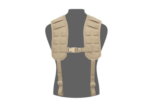 Warrior Molle Harness - Coyote Tan