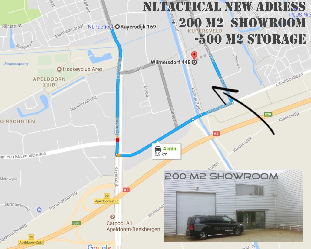 De service van NLTactical NLTactical
