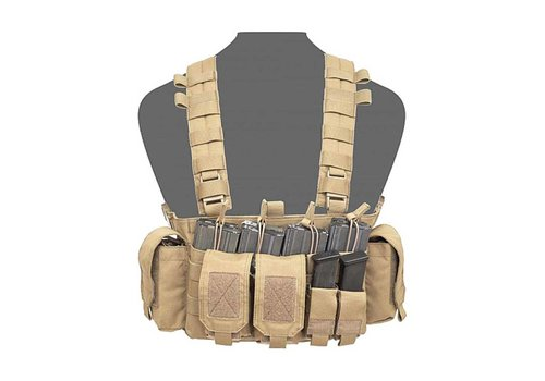 Warrior Falcon Chest Rig - Coyote Tan