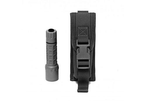 Warrior Small / Medium Torch Pouch - Black