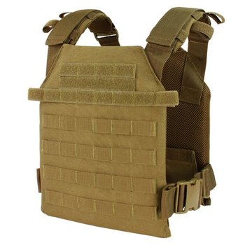 Condor Sentry Lightweight Plate Carrier - Coyote Brown