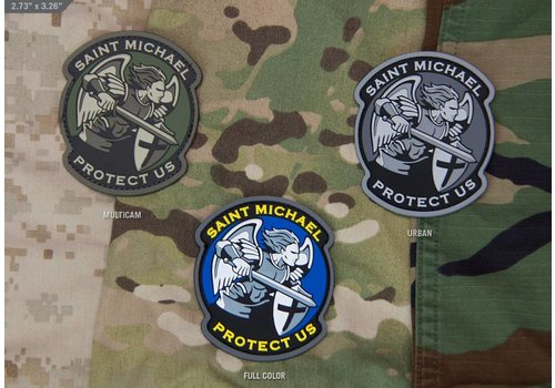 MilSpec Monkey Saint Michael Modern patch PVC - FullColor