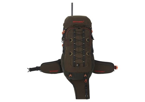 Shooterking Venator Rucksack Brown RS04 25L