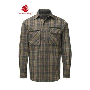 Shooterking GreenLand Shirt Green S1015