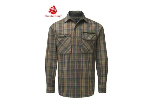 Shooterking GreenLand Shirt Green S1015