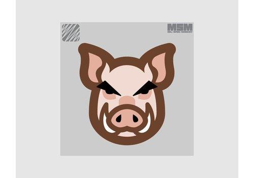 MilSpec Monkey Schweinekopf Patch - Arid