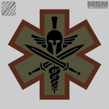 MilSpec Monkey Tactical Medic Spartan Patch - SWAT