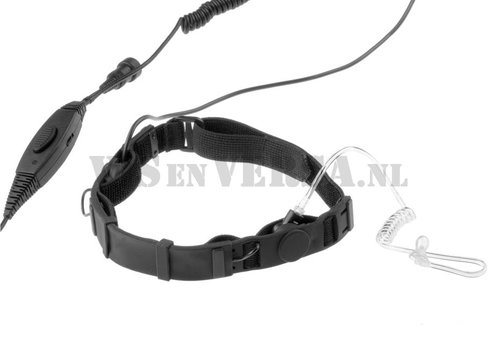 Emersongear SWAT Tactical Throat Mic Set for Motorola Talkabout