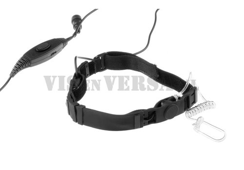 Emersongear SWAT Tactical Throat Mic Set for Kenwood