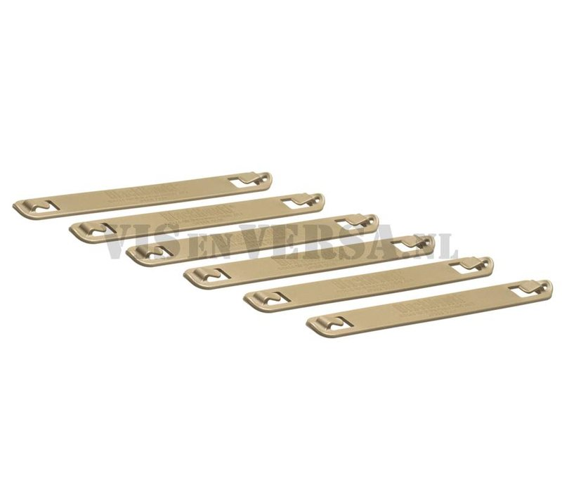 7 Inch Speed Clips 6pcs - Coyote Tan