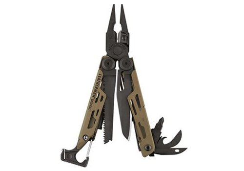 Leatherman Signal Coyote with Nylon Sheath