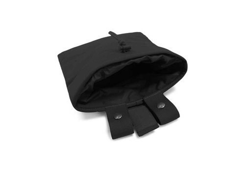 Warrior Large Roll Up Dump Pouch - Black