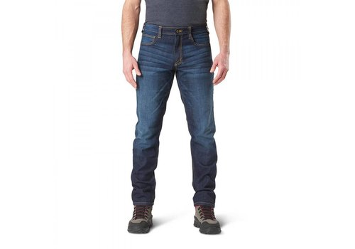 5.11 Tactical Defender-Flex Jeans - Slim Fit - Dark Wash Indigo