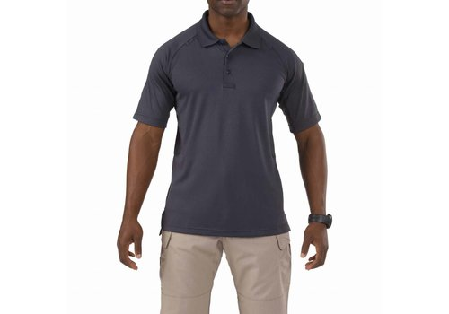 5.11 Tactical Performance Short Sleeve Polo - Charcoal