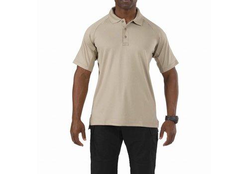5.11 Tactical Performance Short Sleeve Polo - Silver Tan
