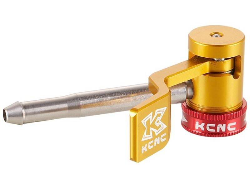 KCNC Scheibenadapter - Pump connector - For Floor Pump - Gold