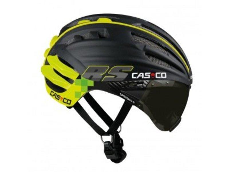Casco SPEEDairo RS mit Visier schwarz-neon