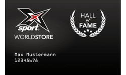 """X-SPORT® WORLDSTORE """"HALL of FAME"""" Card"""