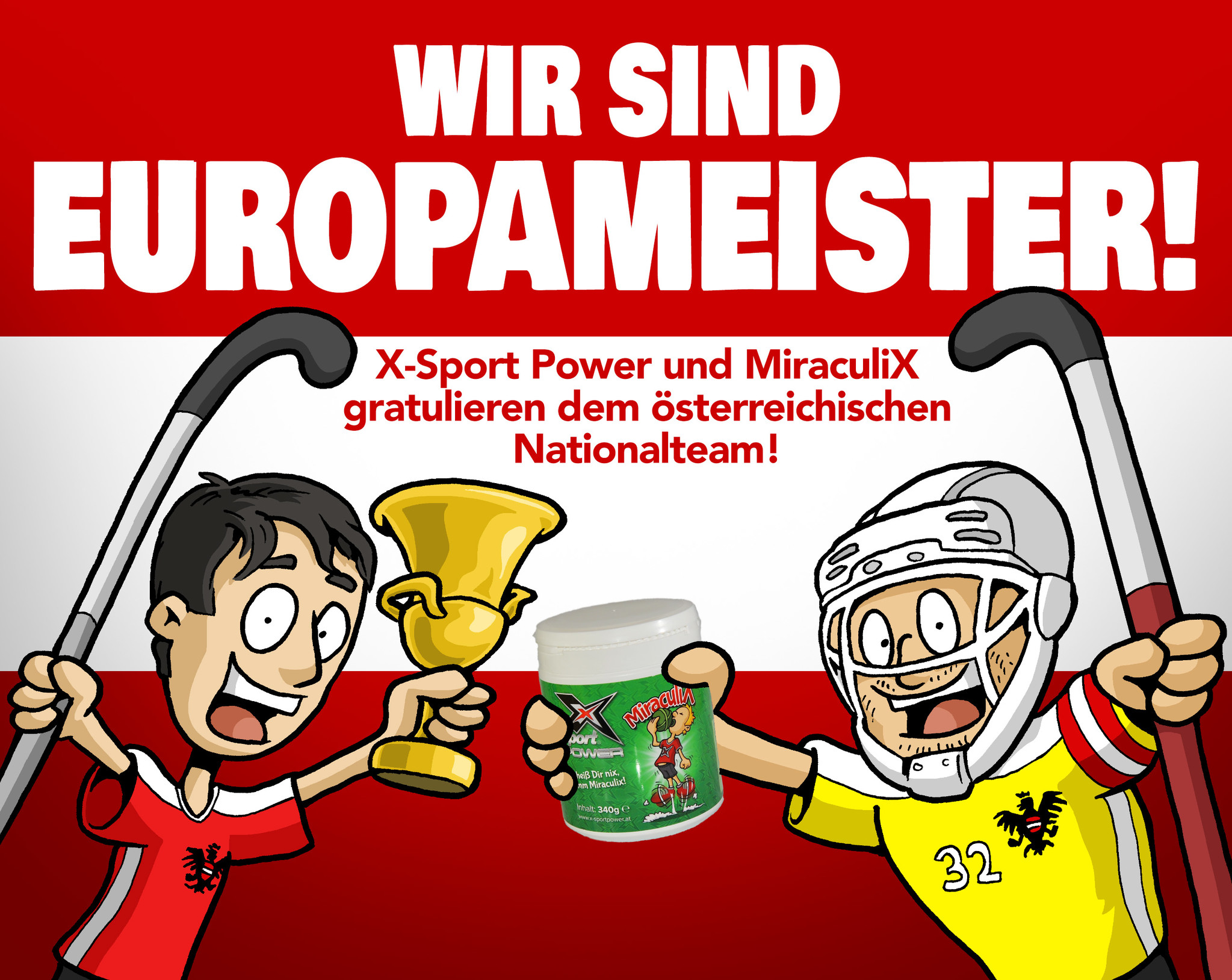 Wir sind Europameister