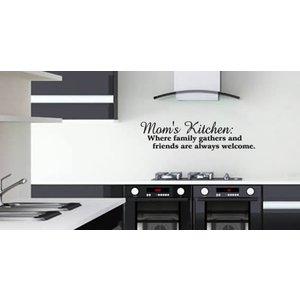 Muursticker Moms Kitchen