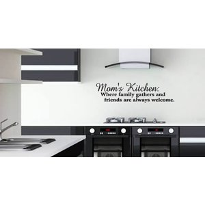 Wall Sticker Moms Kitchen