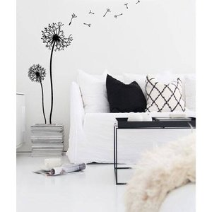 Wall Sticker Flower - Dandelion