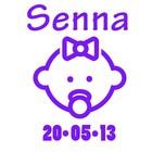 Birth Sticker baby girl