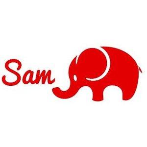 Window Decal Sticker Baby Elephant Birth
