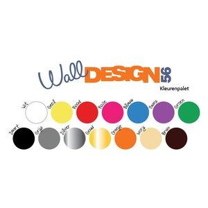 Muursticker Hart Design