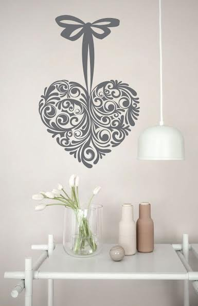 Wall Decal Heart Design Walldesign56 Wall Decals
