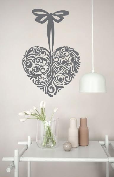 Wall Decal Heart Design Walldesign56 Wall Decals