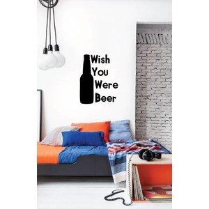Muursticker Bier