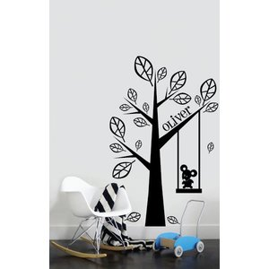 Wall Decal Tree with your own name 2