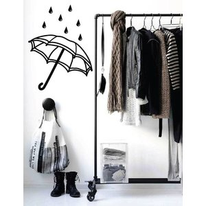 Wall Decal Umbrella