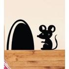 Wandtattoo Maus