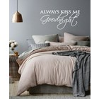 Wall Decal Always Kiss Me Goodnight