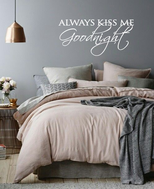 Amazing Wall Decal Always Kiss Me Goodnight