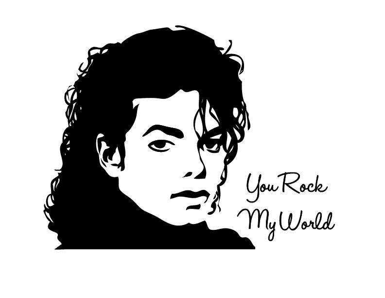Michael Jackson Wall Stickers