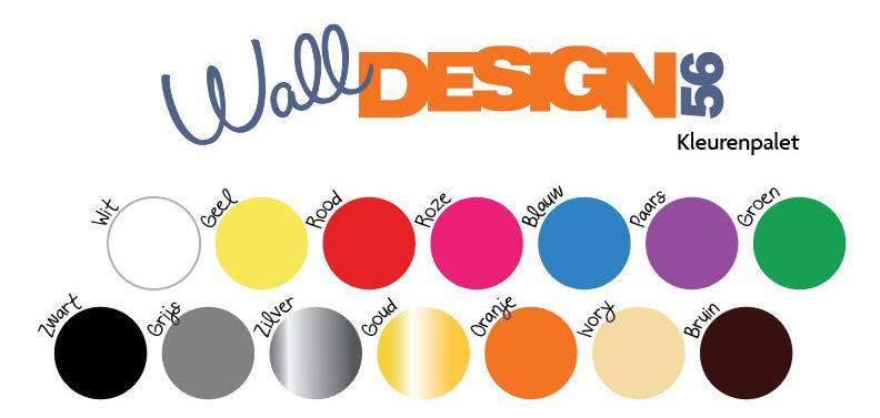 Muursticker Toilet - Walldesign56.com