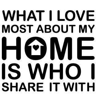 wall sticker what i love most about my home walldesign56 wall