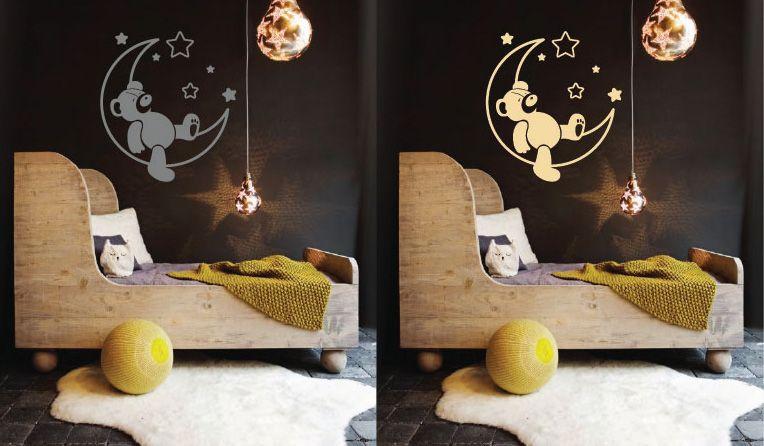 Wall Sticker Sweet Dreams Teddy Bear Walldesign56 Wall Decals