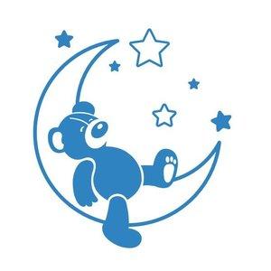 Wandaufkleber Sweet Dreams Teddybär