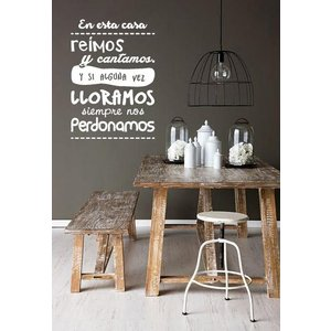 Wall Stickers en esta casa