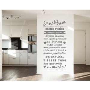 Wall Sticker en esta casa - 2