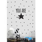 Wand-Aufkleber Du bist mein Stern