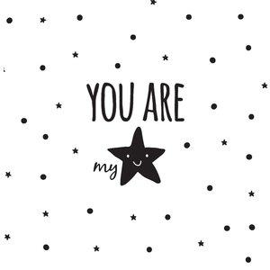 Muursticker you are my star