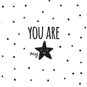 Wall Sticker you are my star