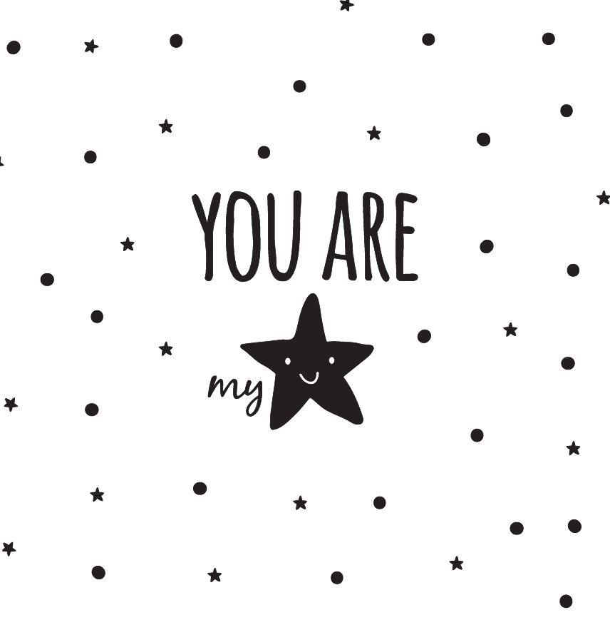 wall sticker you are my star walldesign56 wall decals murals