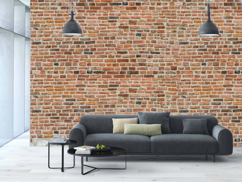 Fotobehang Keuken Design : fotobehang stenen baksteen middeleeuwen design fotobehang stenen