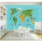 Mural World Map Kids